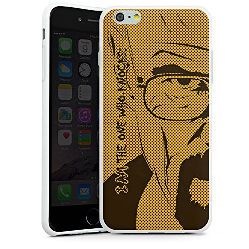 Apple iPhone X Silikon Hülle Case Schutzhülle Heisenberg Breaking Bad Walter White Silikon Case weiß