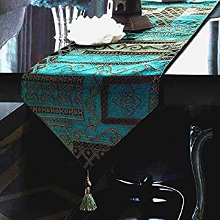 Artbisons Table Runner Blue Abstract 95x13