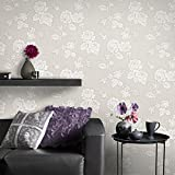 Superfresco Easy Paste The Wall New England Rose Taupe Wallpaper 33-369