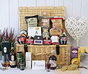Scottish Food & Drink Hamper - Taste Of Scotland from Fine Scottish Hampers