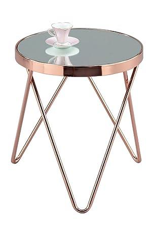 Aspect puccini mirroredglass round sidecoffeeendlamp table aspect puccini mirroredglass round sidecoffeeendlamp table metal mozeypictures Gallery