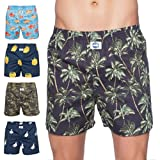 D.E.A.L International 5-er Set Boxershorts mit Motiv Größe XL