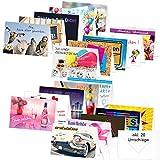 PRICARO Geburtstagskarten mit Briefumschlägen