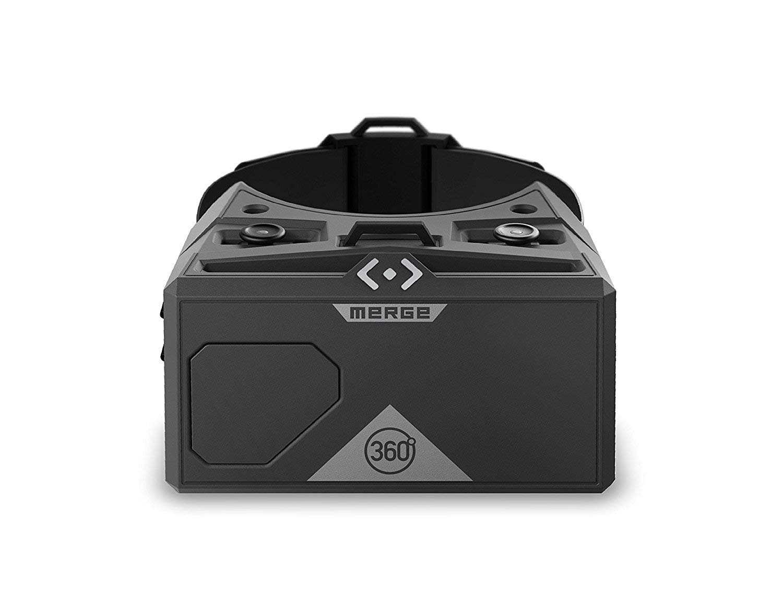 MERGE AR/VR Lunettes (EU Edition) – Casque de réalité virtuelle et augmentée pour Android et iPhone – Boutons à Double entrée, objectifs Ajustables, Mousse Durable, Kids Ages 10+