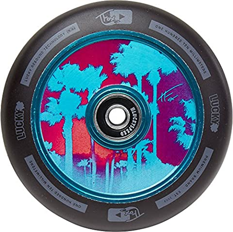Lucky Tanner Fox Palm Air sign 110mm Stunt-Scooter Wheel + F26 Sticker