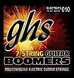 GHS Boomers - Corde per chitarra acustica, da .010 a .060, 7 pz