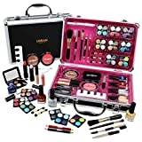Professional Vanity Case Cosmetic Make Up Urban Beauty Box Travel Carry Gift 57 Piece Storage Organizer - Eyes Lips Face Nail by Urban Trading