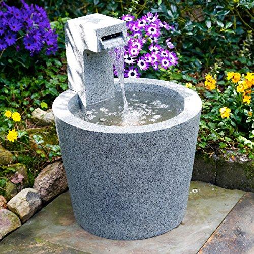 Brunnen QuellDesign Mit LEDBeleuchtung
