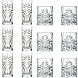 Best Red Old Fashioned Glasses - RCR Crystal Oasis Cut Glass 360ml Highball Cocktail Review
