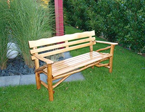 Gartenbänke Knüppelholz im Vergleich - Gartenbank24.eu