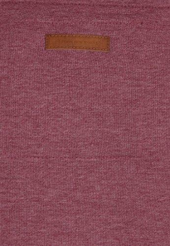 Naketano Male Zipped Jacket Birol IX Bordeaux Melange