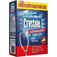 Crystale Dishwasher Tablets - 100 Count