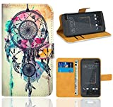 FoneExpert HTC Desire 530 Housse Coque, Etui Housse Coque en Cuir Portefeuille Wallet...