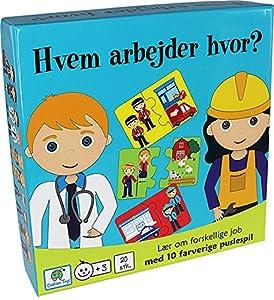 Barbo Toys Classic Barbo Toys Juego Educativo ¿Quién Trabaja dónde? 5906