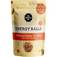 The Butternut Co. Energy Balls Almond Butter & Oats - Dates, Dried Fruit & Nut Snack Balls 288g (Pack of 6) 100% Natural…