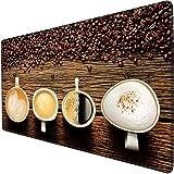 mauspad gaming groß Kaffeebohne kaffeetasse kreatives spiel mauspad schreibtisch pad übergroße e-sports mädchen tastatur pad