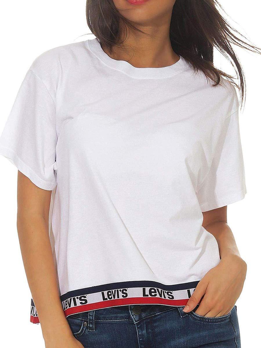 Camiseta Levis Tape Blanco