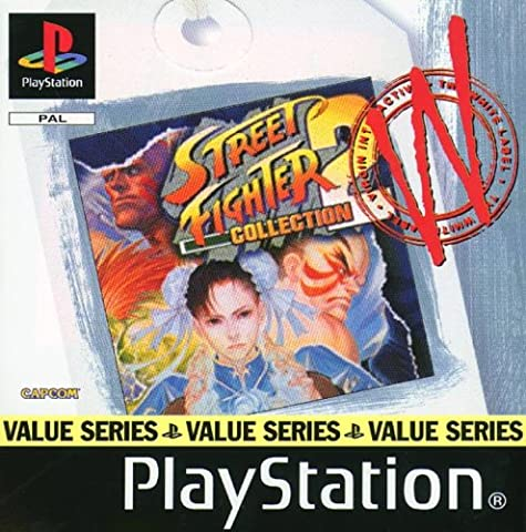 Street Fighter Collection 2 Value Series (PS)