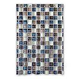 DOUBEE Badezimmer Fliesen Mosaik Wasserdichtes Duschvorhänge SHOWER CURTAIN 120cm x 183cm