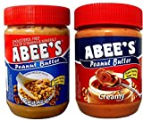#6: ABEE'S Peanuts Butter Creamy+Crunchy 400 gm Pack of 2