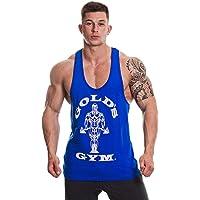 Gold's Gym Men's Muscle Joe Contrast Stringer Vest