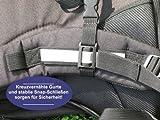 Freizeit Wanderrucksack Rucksack SPORTS mit LED Taschenlampe Daylight Reiseset - 4