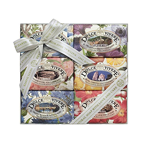 Nesti dante dolce vivere collezione sapone - 6 pezzi x 150 gr. (totale 900 gr.)