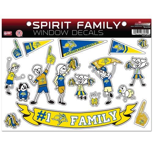 Rico South Dakota State Jackrabbits NCAA Family Aufkleber, groß