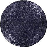 Arsvita Glasperlen Tischset Silber - blau 6er Pack