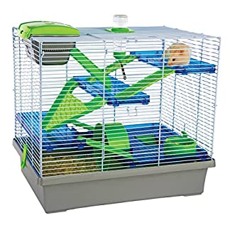 Rosewood Pico Hamster Cage, Extra Large, Silver 14