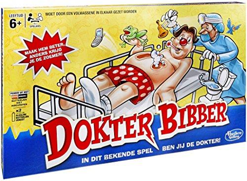 Hasbro B2176104 Dr. Bibber  , Spiel
