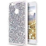Kompatibel mit Huawei Nova Hülle,Huawei Nova Schutzhülle,Glänzend Bling Glitzer Diamant TPU Silikon Hülle Tasche Silikon Case