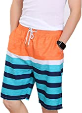 MOSE Beach Short Pants, Cotton Casual Sports Beach Water Pants Surfing Running Quick Dry Cotton Swimming Comfortable Trunks