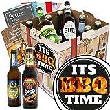 Its BBQ-Time | Bierset | Biere aus Deutschland | Its BBQ-Time | Biergeschenke für Männer | Geschenkideen Grillparty | GRATIS Bier Buch, Geschenk Karten und Bier Bewertungsbogen