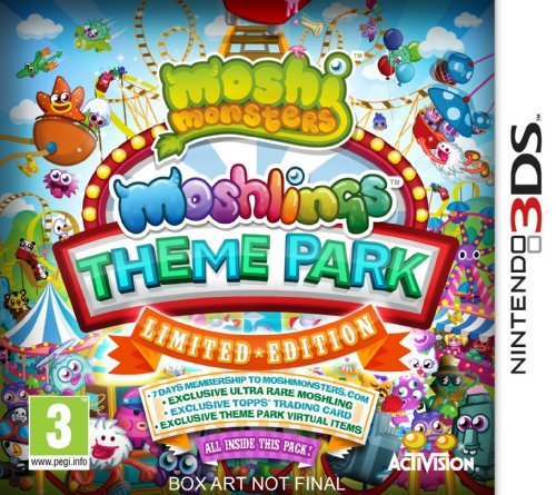 Moshi Monsters: Moshlings Theme Park - Limited Edition (Nintendo 3DS) by ACTIVISION (Theme Park Inc)