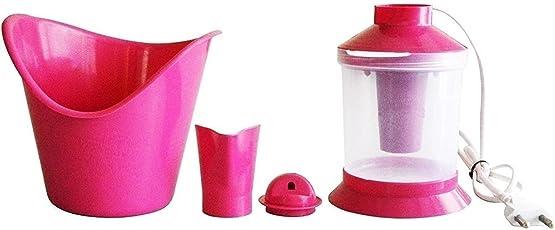 Naulakha 3-in-1 Nose Steamer and Vaporiser, Nozzle Inhaler, Cough Facial Sauna Steamer, Medium (Pink, PKT/01)