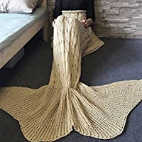 YUMOMO Mermaid Tail Coperta all'uncinetto il modello,