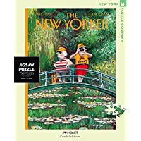 New York Puzzle Company - New Yorker J'aime Monet - 750 Piece Jigsaw Puzzle by New York Puzzle Company
