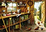 Gibsons The Garden Shed Jigsaw Puzzle, 500 piece