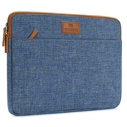 DOMISO 10.1 pulgadas Laptop Sleeve Canvas Notebook
