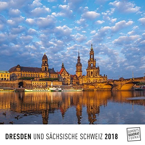 Dresden 2018 – Wandkalender – Quadratformat 24 x 24 cm