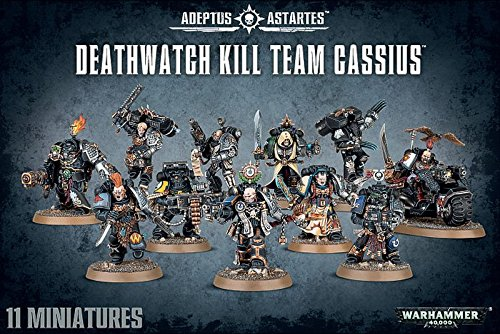 Warhammer 40,000 40K Deathwatch Kill Team Cassius