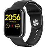 "Wordcam Smartwatch, 1.3"" Reloj Inteligente, Reloj Deportivo con Pulsómetro, Presión Arterial,Cronómetros, Calorías, Podómetro"