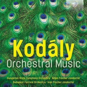 Zoltan Kodaly-Orchestral Music