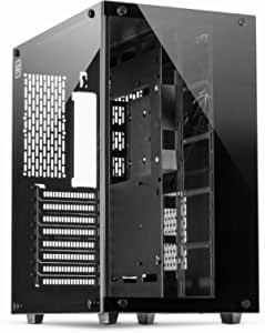 Inter Tech C 701 Panorama Atx Case Tempered Glass Computers Accessories