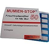 """quacksalberei Witzige Kaugummis""""MUMIEN-STOP 50"""" zum 50. Geburtstag"""