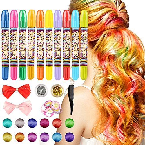 Humble Chalk Mascara Crayon New Design Crayons For Hair Color Chalk For The Temporary Blue Hair Dye With Comb Painting Supplies Office & School Supplies