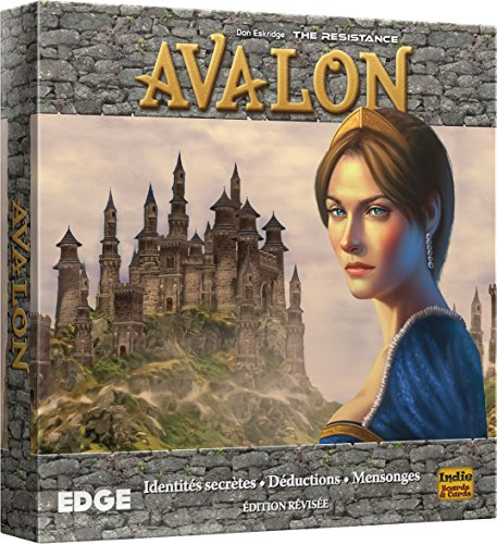 Asmodee–The Resistance: Avalon, efinre04, no precisa