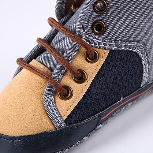CHIC-CHIC Baby Schuhe Säugling Sneaker Kleinkind Weiche Sohle Rutschfeste Prewalker Krippe Winter Boots Lauflernschuhe Braun