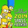 Die Simpsons Wandkalender 2014: Die Simpsons Spaßkalender 2014